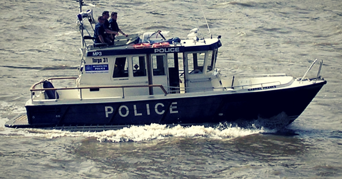 The coastal police of nations around the world, patrol their country's shoreline. Representative image only. Image Courtesy: Wikimedia Commons.