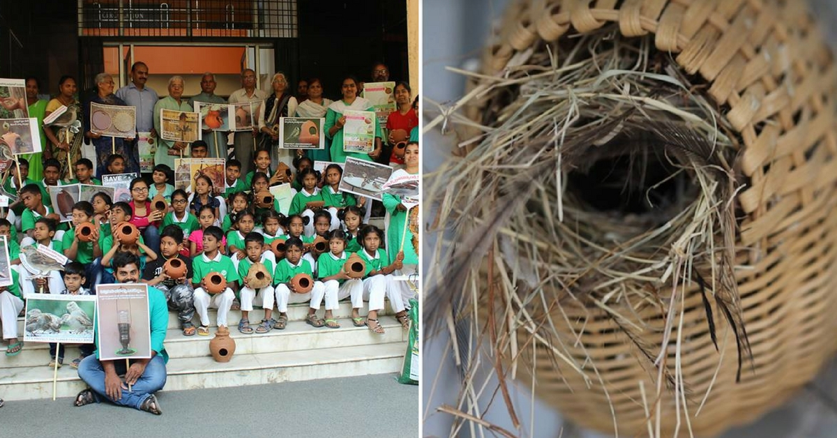 How Can Waste Save The Dwindling Sparrow? Vizag Has An Ingenious Idea!