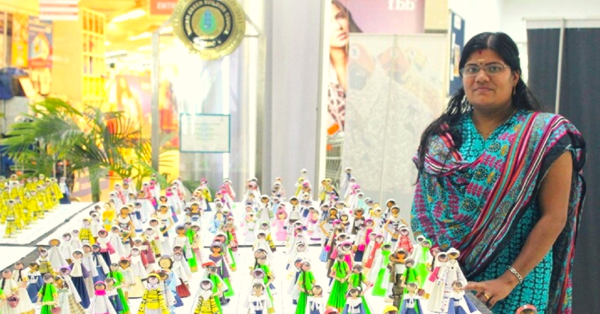 Gold from Waste: This Dollmaker's Unusual Concept Earned Her a Guinness Record!