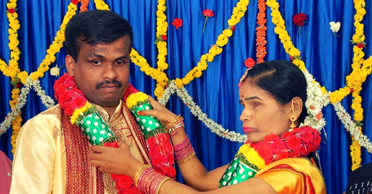 Defying Stiff opposition, Bengaluru Folks Help Visually-Impaired Couple Tie the Knot!