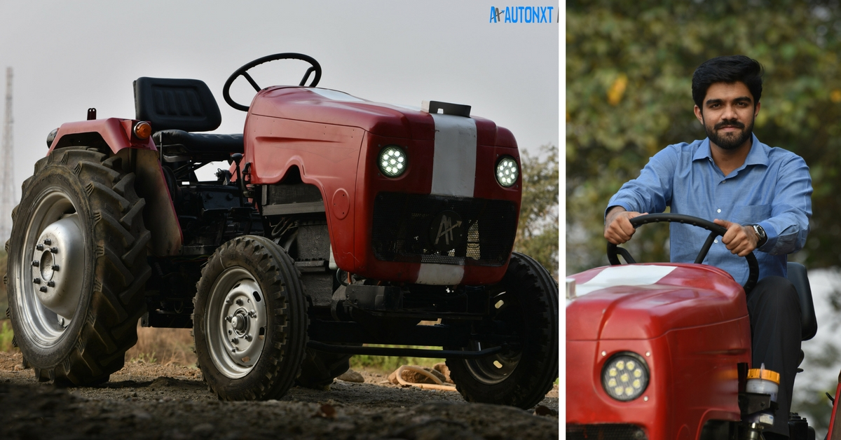Meet The Maharashtra Team Behind World's First Self-Driving Electric Tractor!