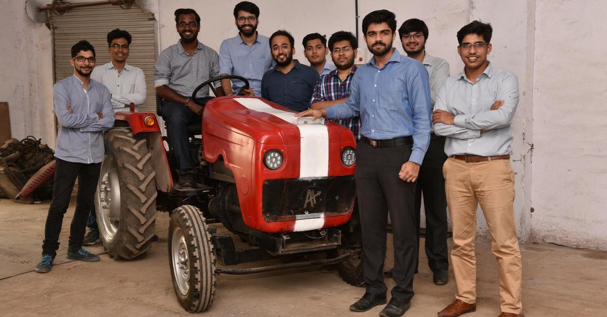 Autonomous Tractor of AutoNxt Team