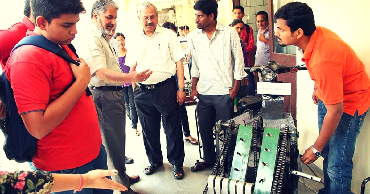 Water-Less Bathing & 'Intelligent' Limbs: IIT-D's Open House Throws Up Host of Innovations!