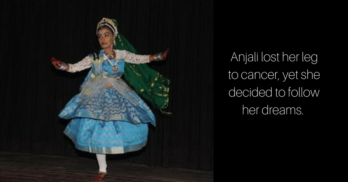 Cancer Took Her Leg, but Not Her Passion for Dance! Meet the Amazing Anjali Roy