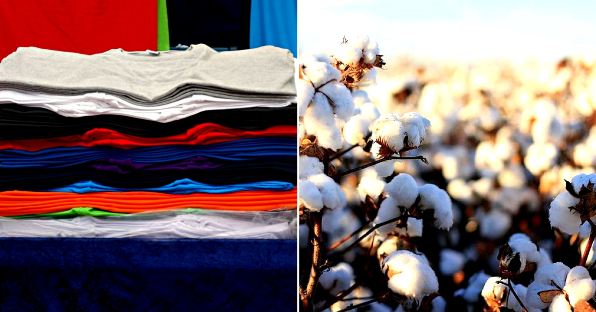 Clothes made from organic cotton are comfortable, and feel easy on the skin. Representative image only. Image Courtesy: Wikimedia Commons.