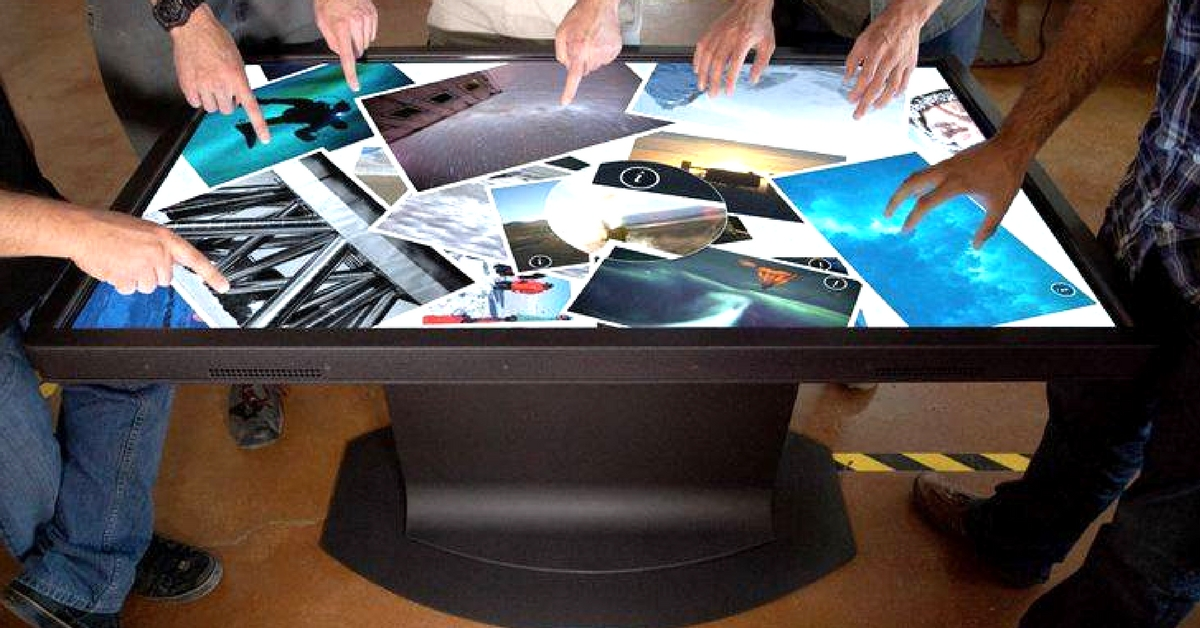From creating origami, to multi-touch surfaces, Anup has come a long way. Image Courtesy: TouchMagix