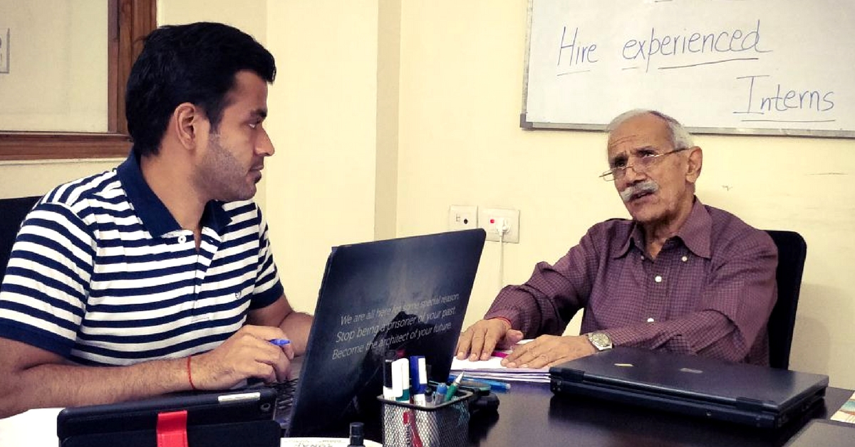 Starting Young: This 77-Year-Old Delhite Runs a Job Portal for Retired Senior Citizens!