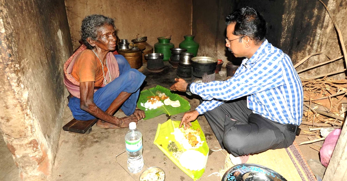 Sharing Is Caring: Karur Collector Visits an Old, Poor Couple for a Wonderful Surprise!