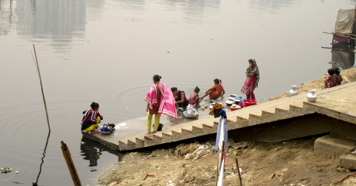 Temple, Gurudwara & Mosque Join Hands To Clean Polluted River in UP Town!