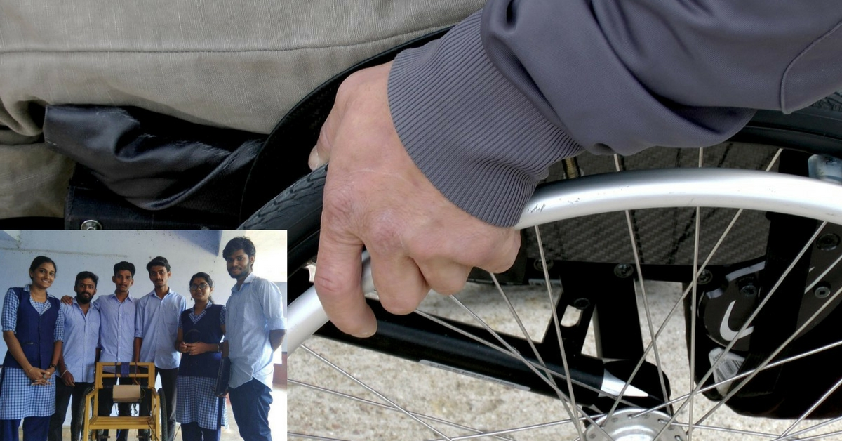 Kerala Students Build Low-Cost Alternative to Voice-Controlled Wheelchairs!