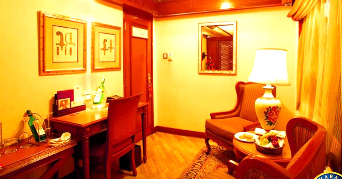 One of the most famous luxury trains, the Maharaja Express promises to cradle you in opulence. Image Courtesy: Facebook.