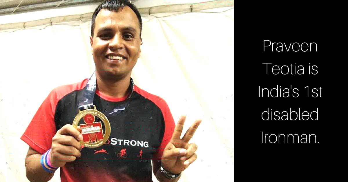 Shot 4 Times on 26/11, This Ex-Navy Commando Is India's 1st Disabled Ironman!