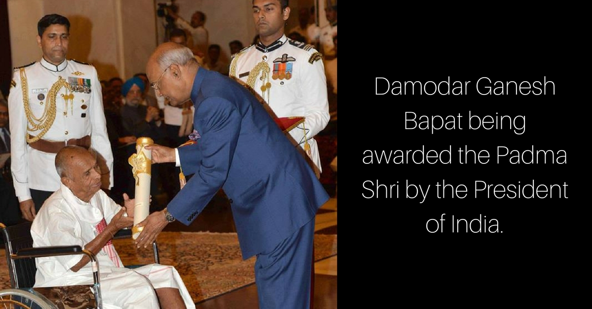 India Awards Padma Shri to Octogenarian Who Spent His Life Serving Leprosy Patients!