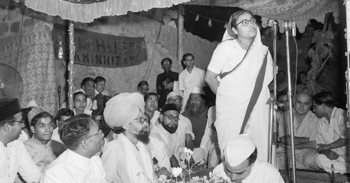 Meet India's First Woman CM: A Freedom Fighter & Feminist From Uttar Pradesh