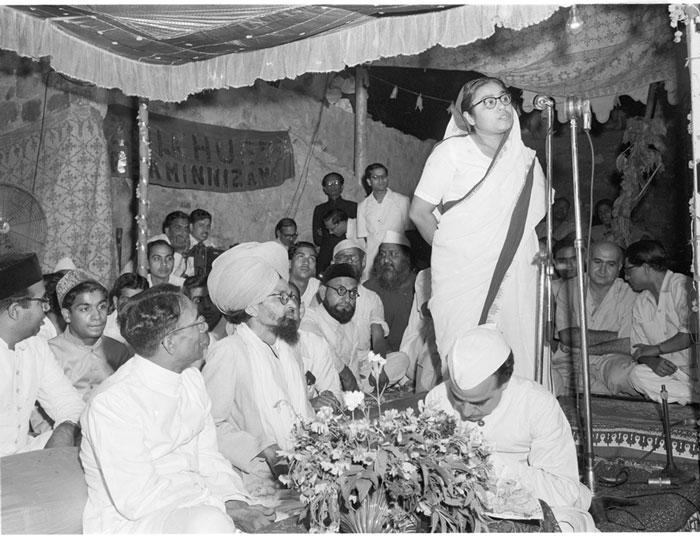 Sucheta Kriplani (Source: Facebook/India History)