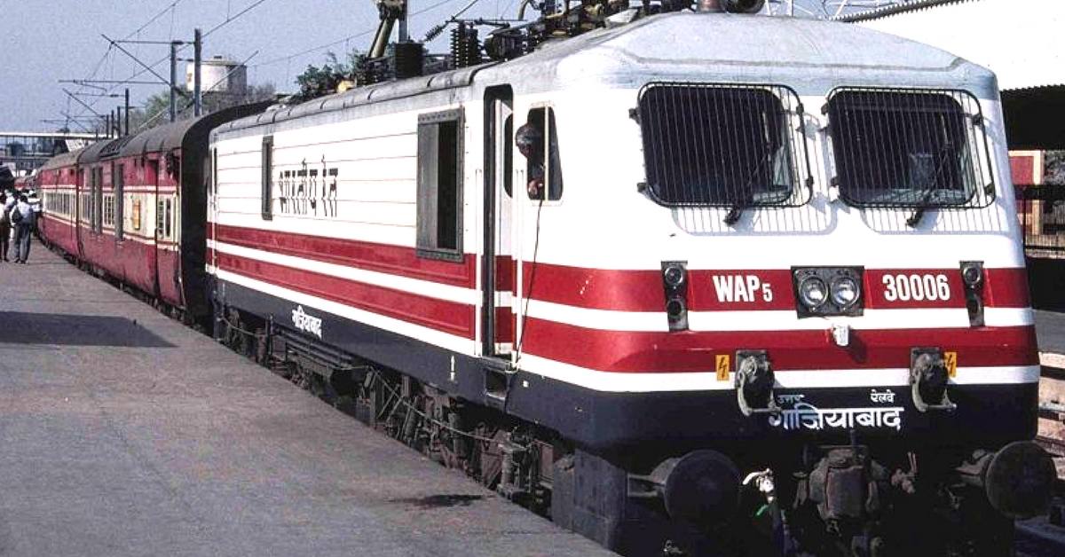 The Indian Railways manufactured around 350 locomotives, and 2500 coaches! Representative image only. Image Courtesy: Wikimedia Commons.