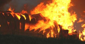The factory was burning, with workers trapped inside. Representative image only. Image Courtesy: Flickr