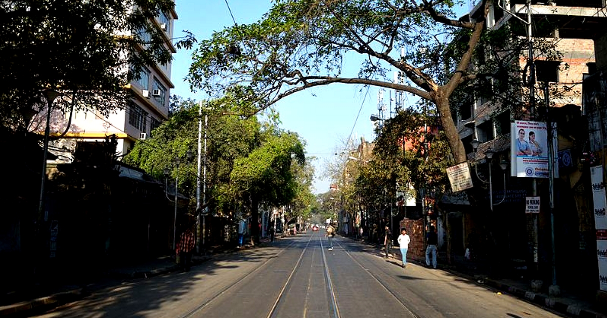 The leafy locale of Bowbazar where the library is located, is home to many vintage buildings. Representative image only. Image Courtesy: Wikimedia Commons