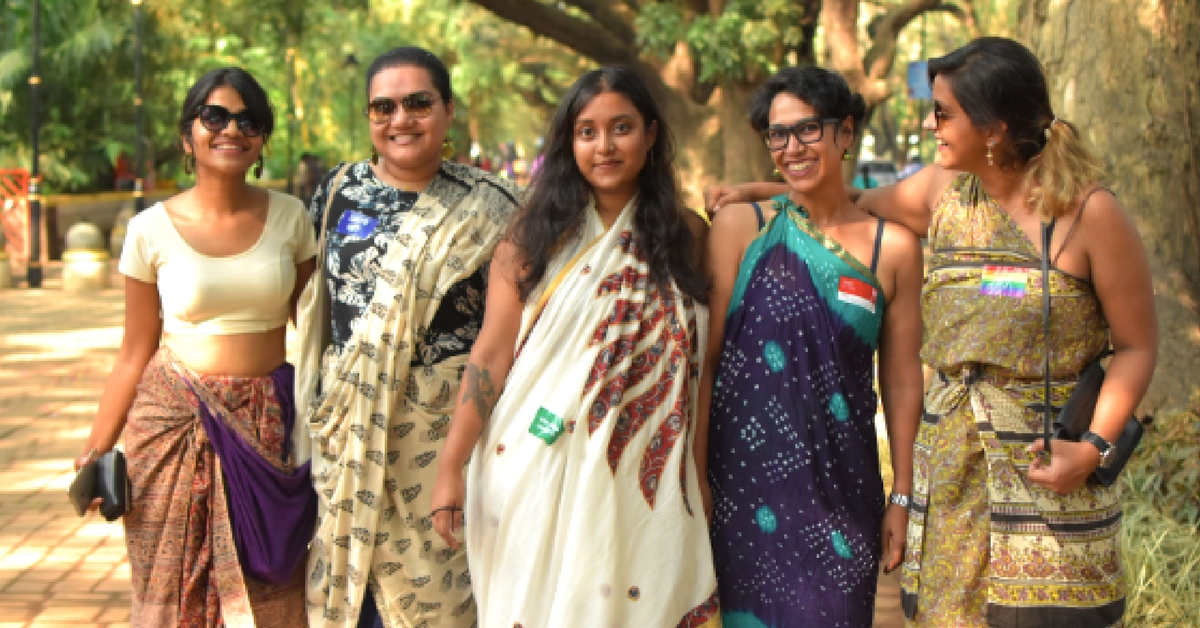 Nine Yards of Self: One Woman's Crusade to Bring Back the Draping Culture in India
