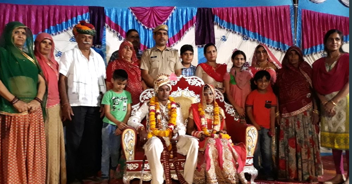 Rajasthan Police Station Adopts Debt-Ridden Village Girl, Sponsors Her Marriage!