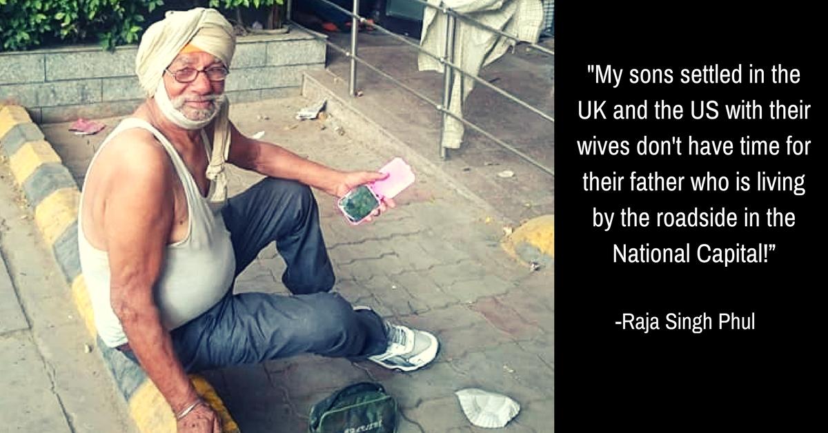 Viral FB Post Helps 76-YO Homeless Oxford Graduate Get a Home in Delhi!