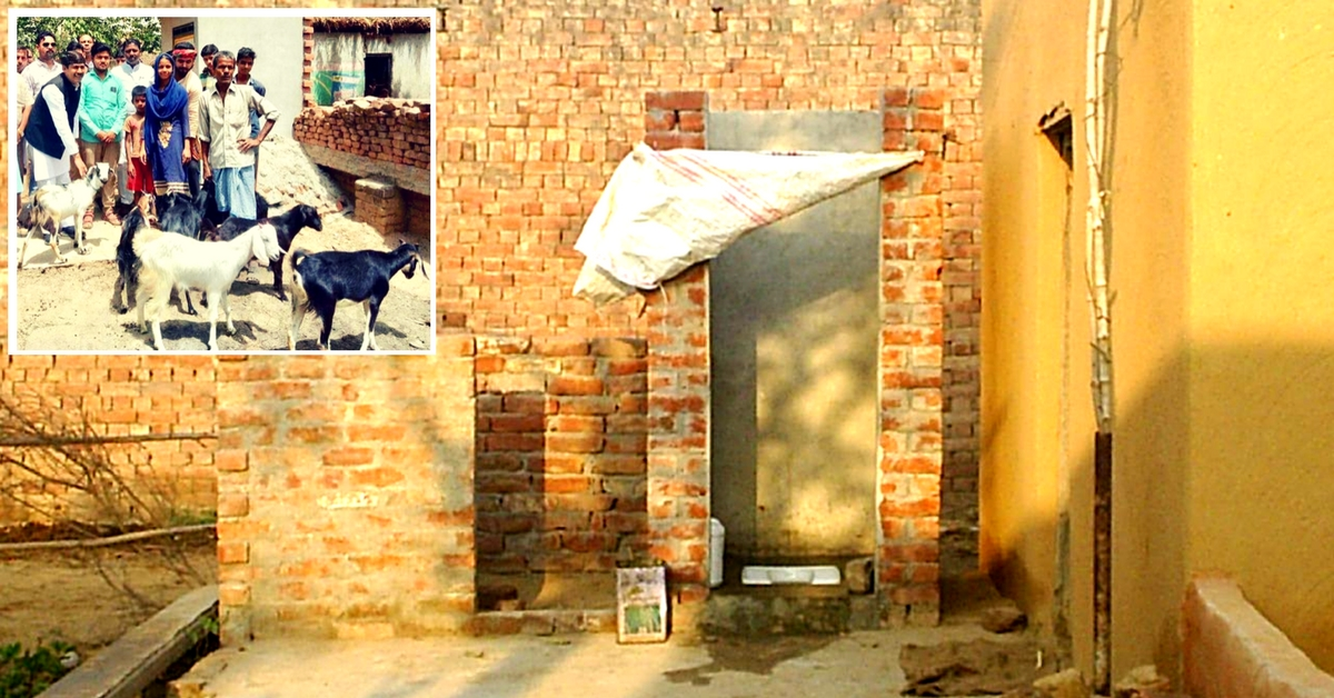 Govt. Didn't Act, So UP Villager Sells Goats To Build a Toilet!