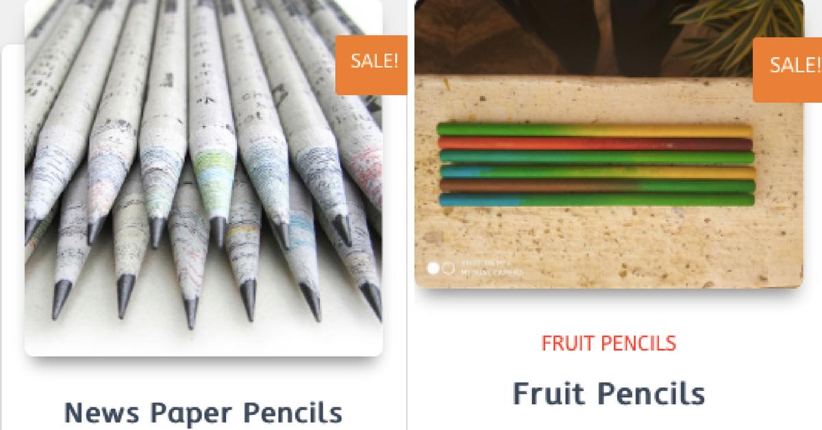 Plantacil recycled pencil