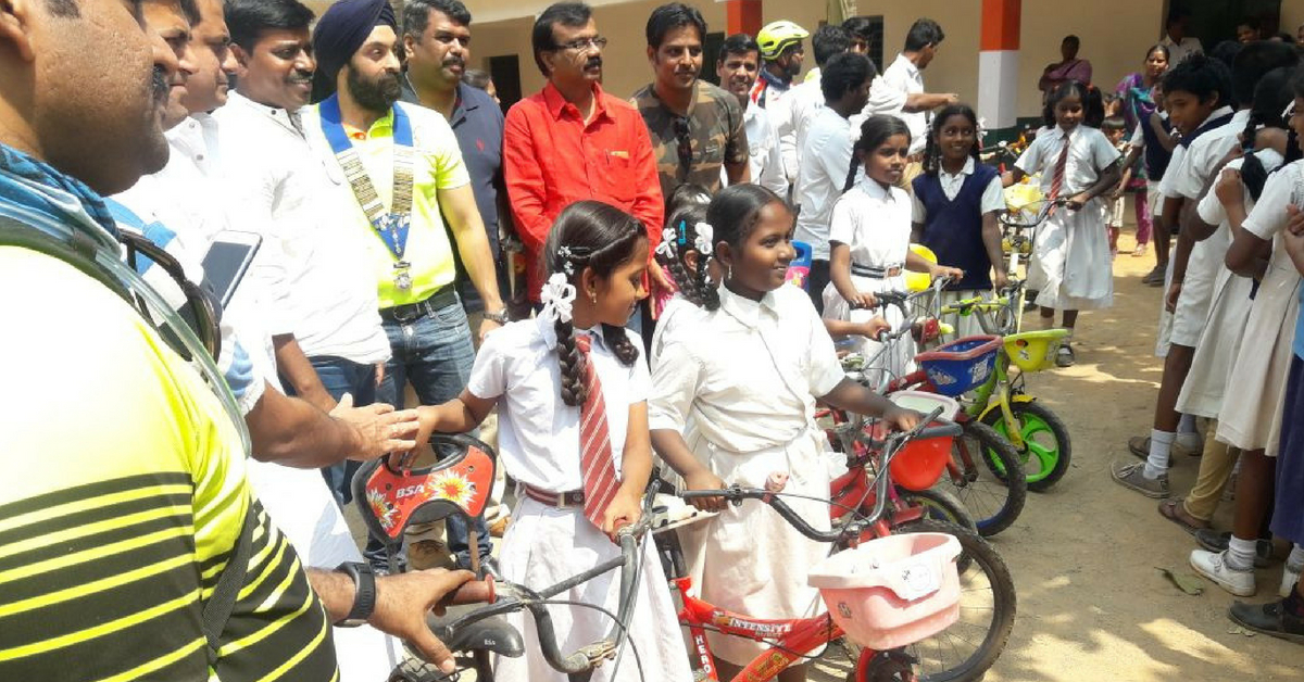 Got an Old Cycle? Join Us in Giving Wheels to the Dreams of 100 Needy Students