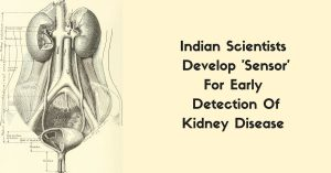 Indian Scientists Develop 'Sensor'For Early Detection Kidney Disease