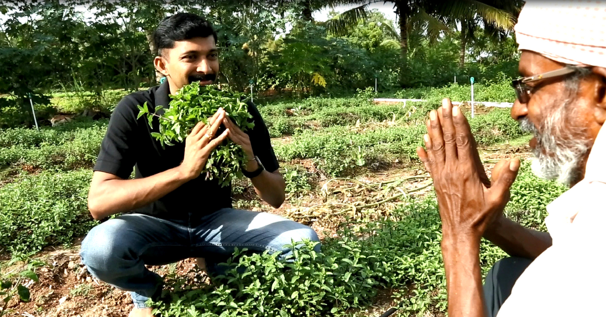 Coimbatore Techie Sells 40+ Varieties of Native Leafy Greens, Empowers Farmers!
