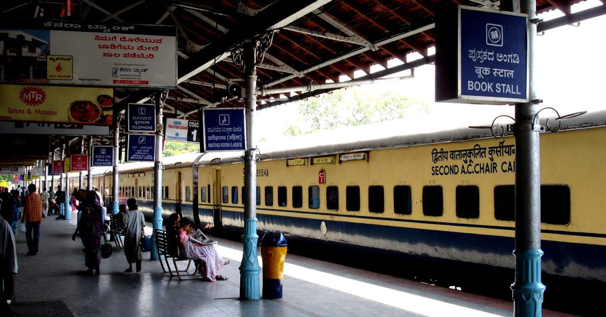 1,500 Railway Stations Will Soon Have 1 Lakh Steel Benches Paid for by Local MPs!