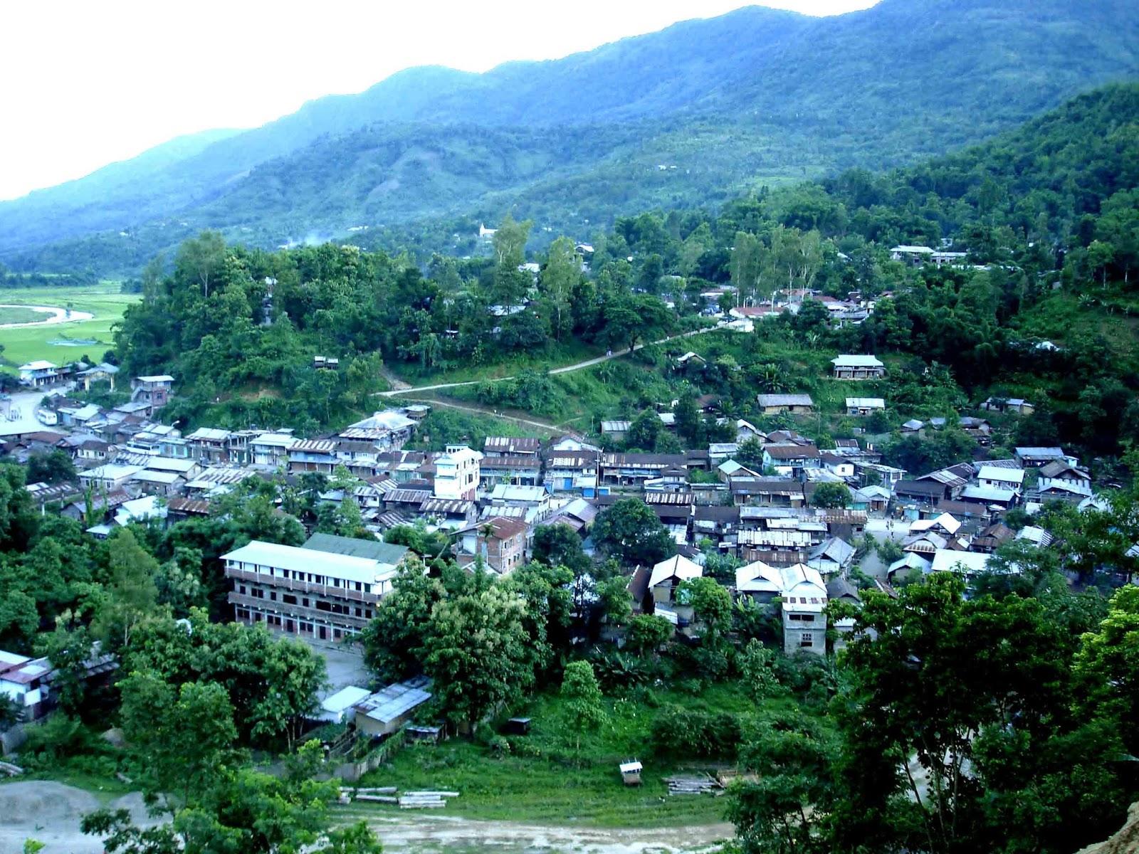 Noney, Manipur. (Source: Kameshore Blogspot)