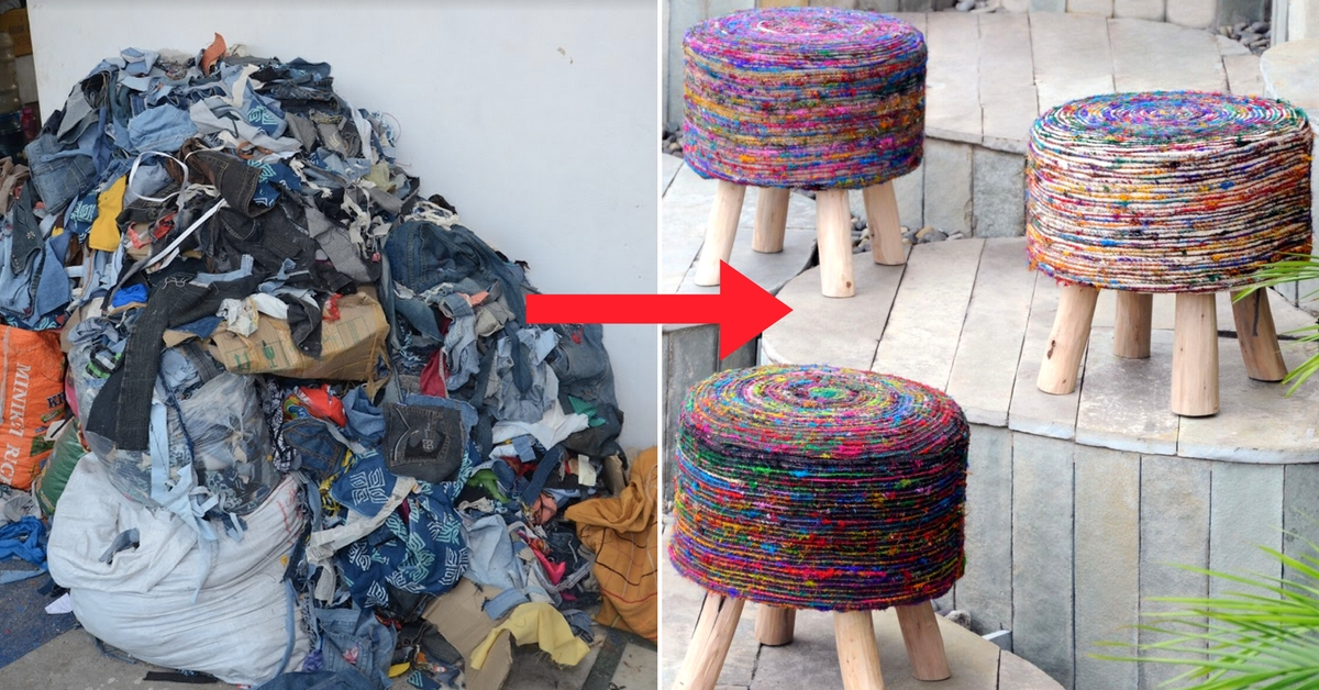 Tetra-Packs & Torn Jeans: Bengaluru Woman Upcycles Waste into Things You'll Love!