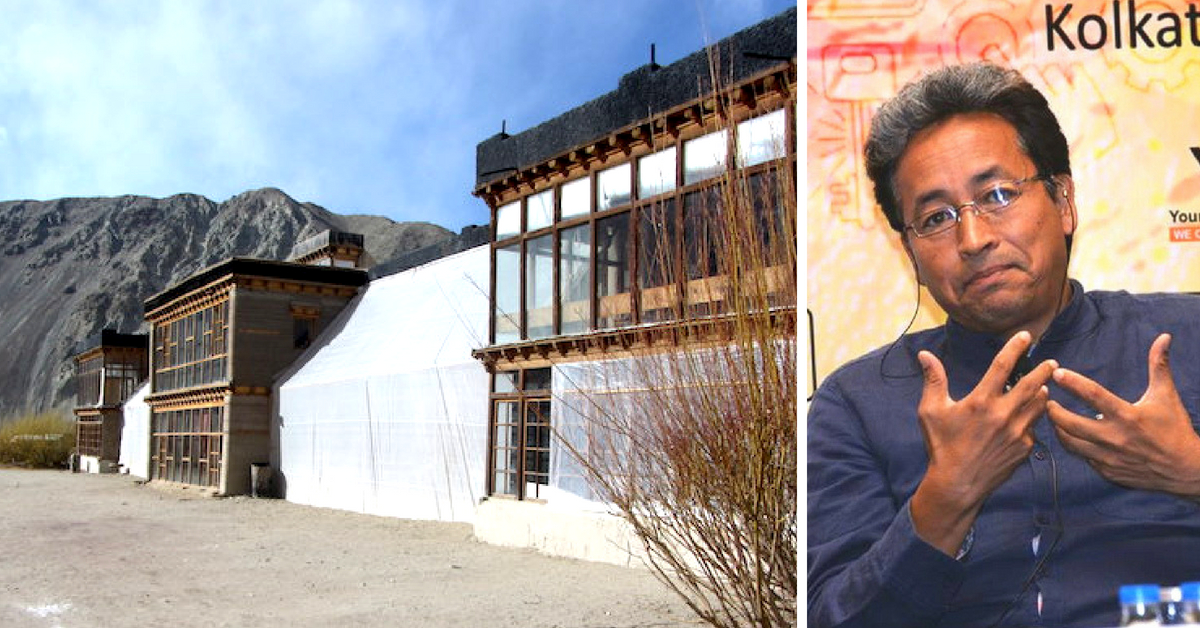 Solar-Heated Mud Huts? Sonam Wangchuk's New Innovation for the Indian Army!