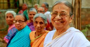 Saroja has one aim-to ensure the happiness of senior citizens who have no one to turn to. Image Courtesy:Milaap.