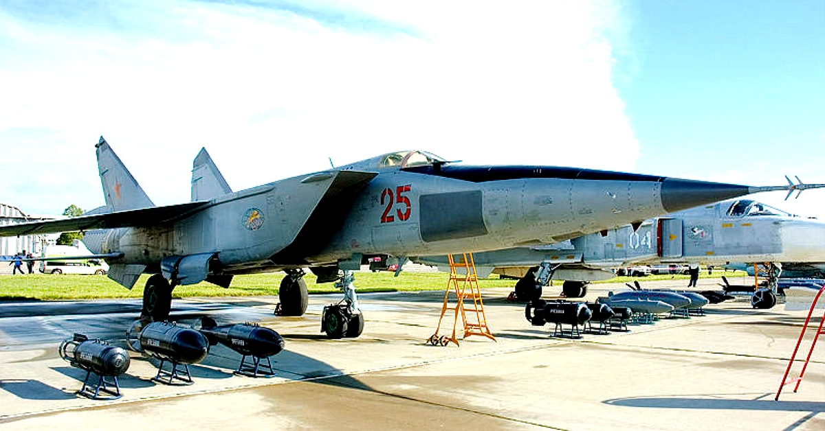 The MiG-25 aircraft was one of the fastest to enter military service. Representative image only.Image Courtesy: Wikimedia Commons