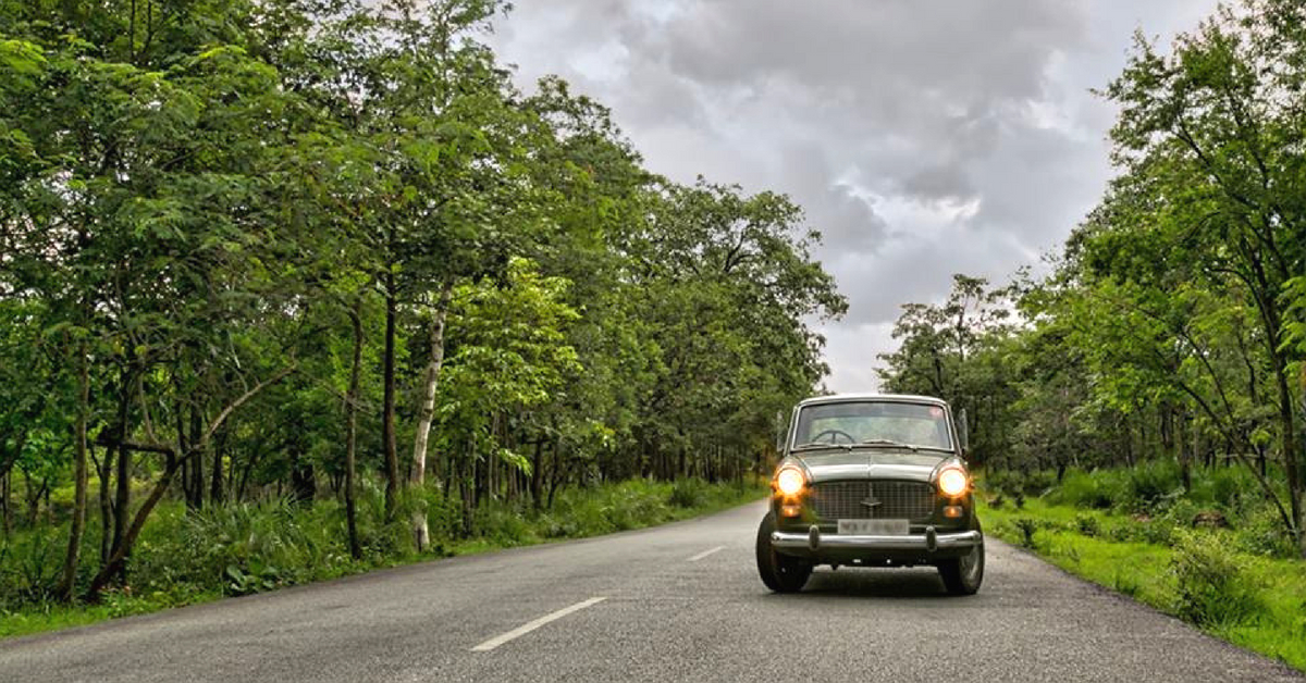 The Premier Padmini is immediately recognisable thanks to its distinct features. Image Credit: Facebook.