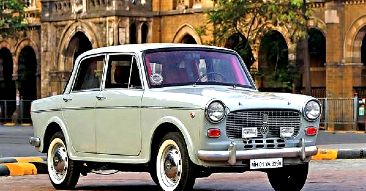 The Premier Padmini is truly an iconic automobile, one of the first that India fell in love with. Image Credit: Facebook.