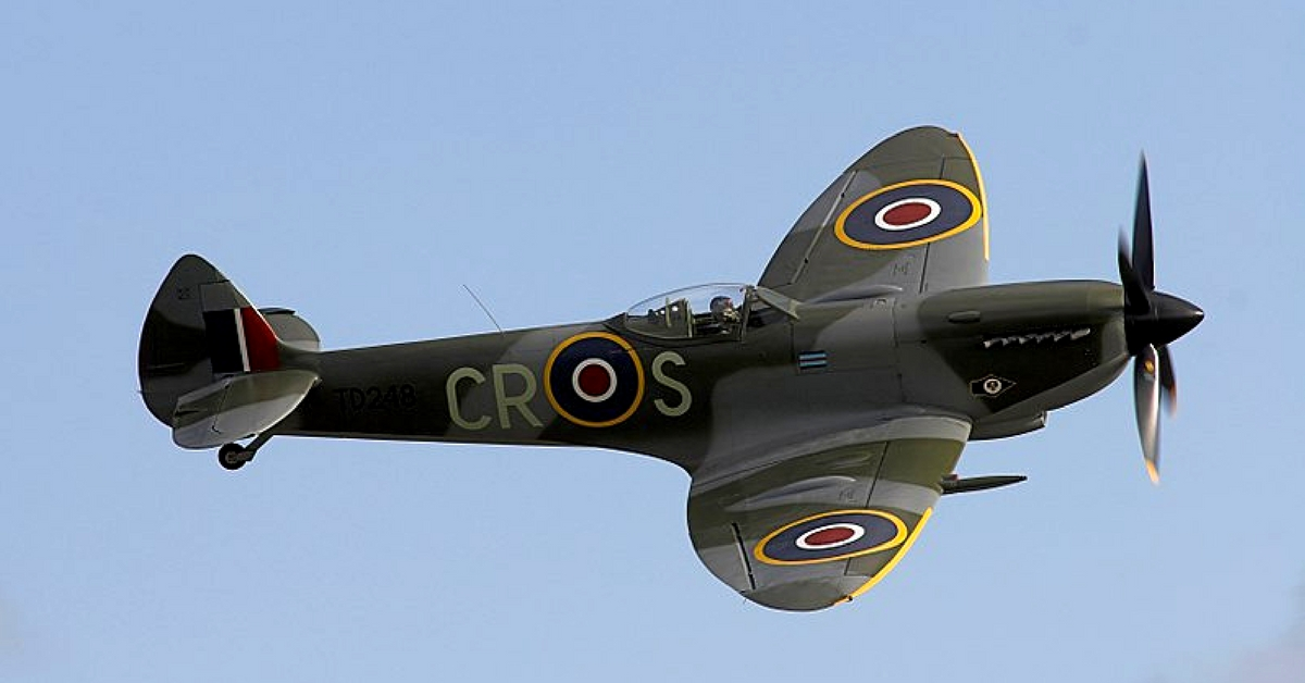 For the IAF Chief, the Spitfire was a fearsome airplane during World War 2. Representative image only. Image Courtesy: Wikimedia Commons