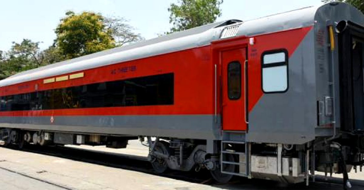 The new AC Coaches of the Railways with their continuous windows. Image Credit: PIB