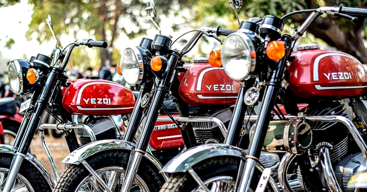 The powerful Yezdi, was one of the fastest bikes in India, during its time.Image Credit: Facebook.