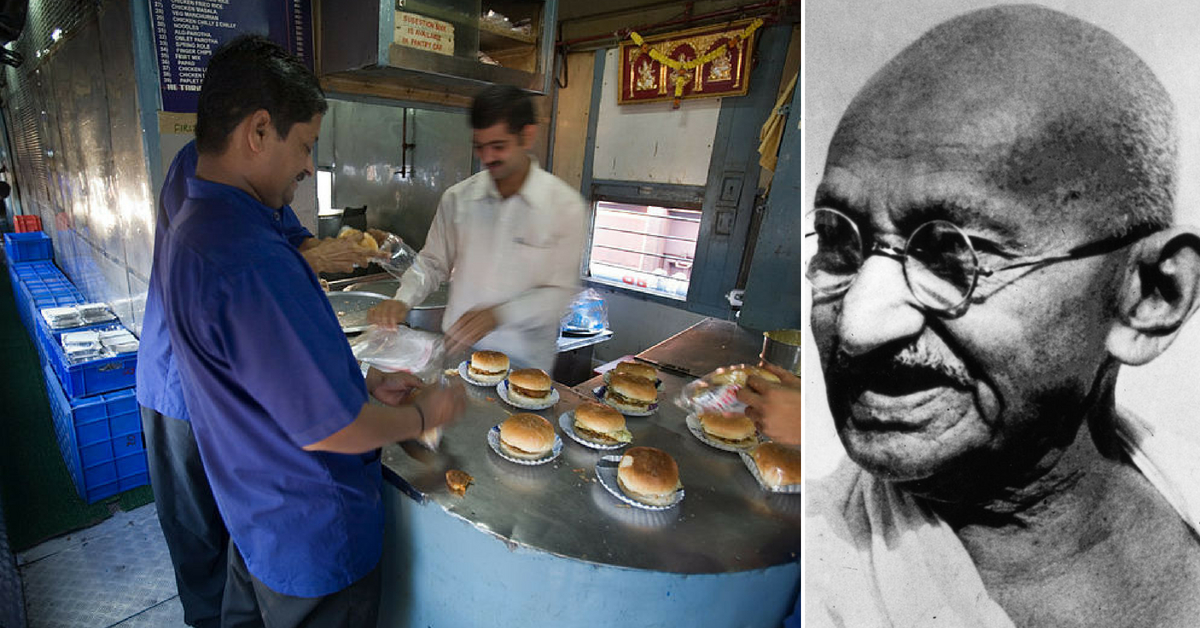 150 Years of Gandhi: Railways to Go Veg for a Day to Celebrate Bapu's B'Day!