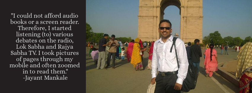 75 Percent Loss of Vision Could Not Keep Jayant From His UPSC Dreams!