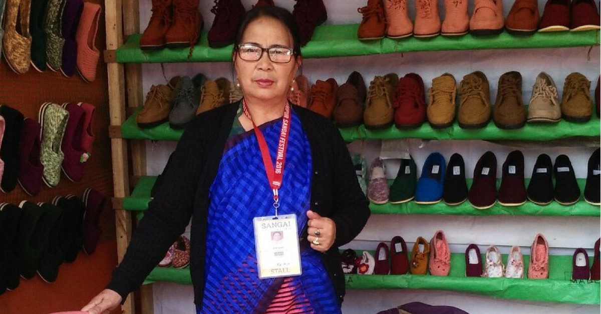 Once She Couldn't Afford Shoes For Her Kid. Today, This Manipur Mom Exports Them!