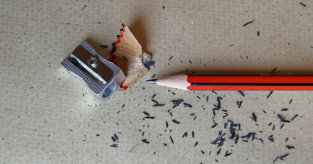 Pencil Recycles waste Wood