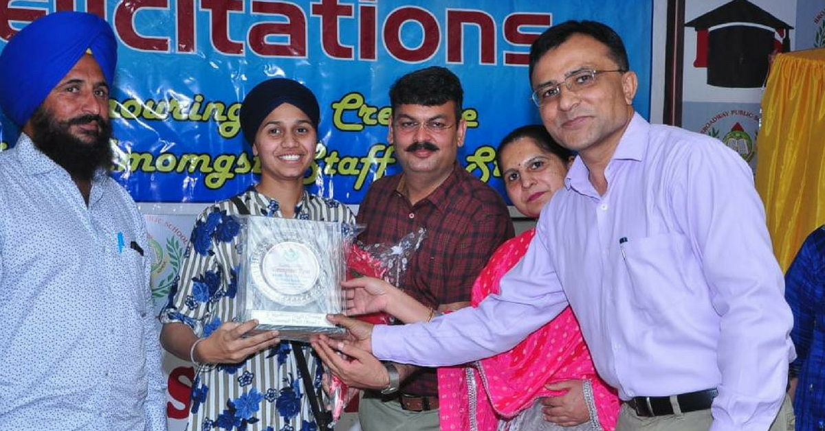 Farmer's Daughter Tops CBSE Exam in Punjab with 99.4%, Wants to Crack UPSC Next!
