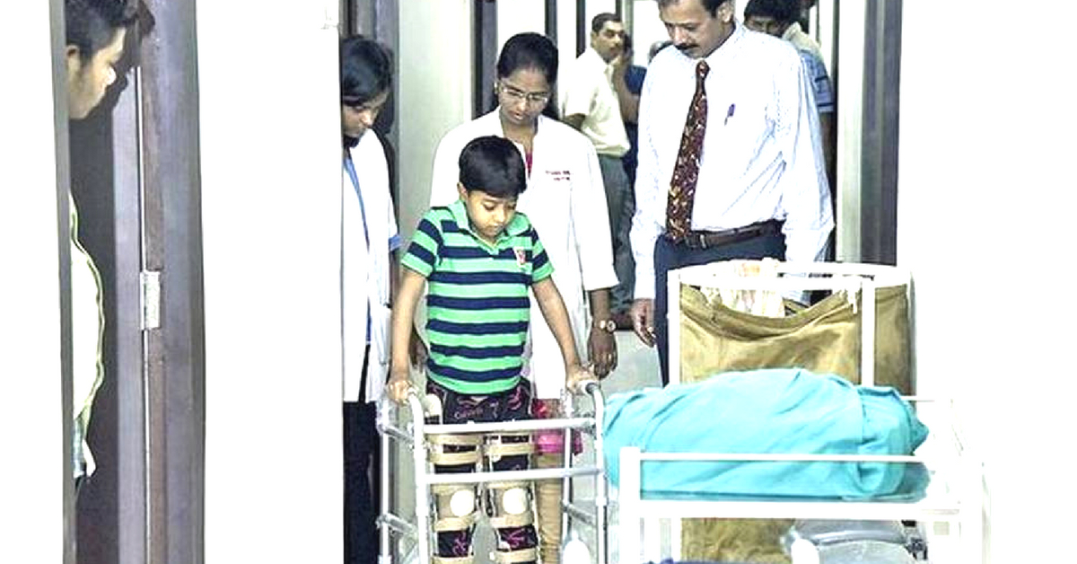 Paralysed For 3 Years, Rajasthan Kid Walks Again Thanks to Stem Cell Therapy!