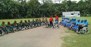 Wheelchair India team (1)