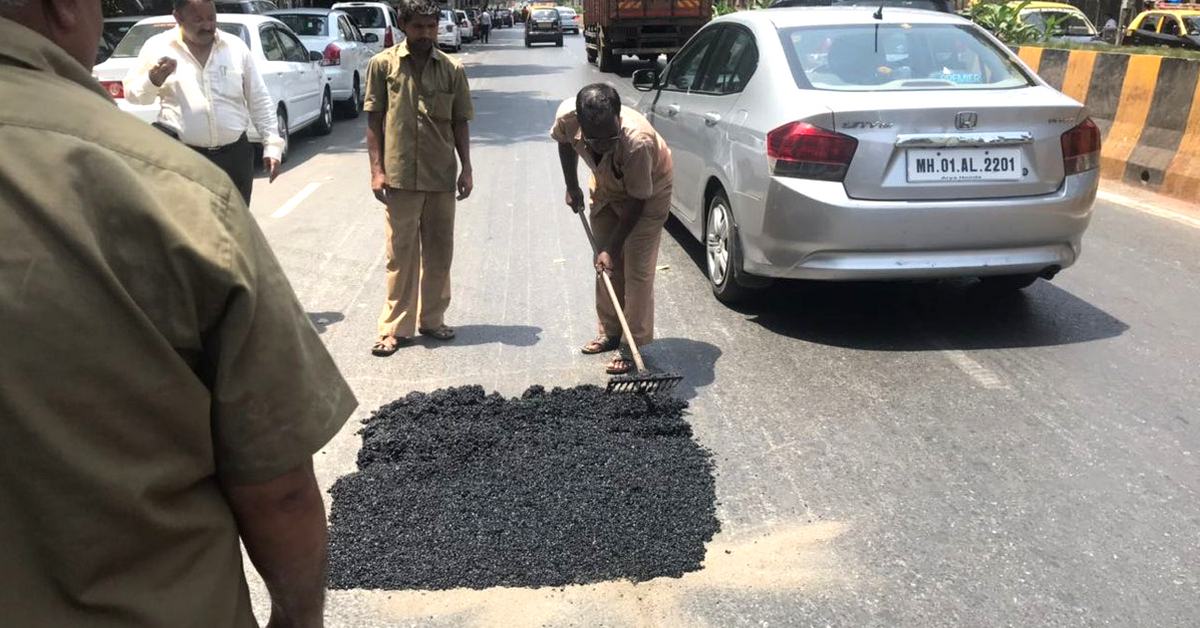 Once Imported, BMC to Make Its Own 'Superior' Pothole-Filling Mix at Lower Cost!