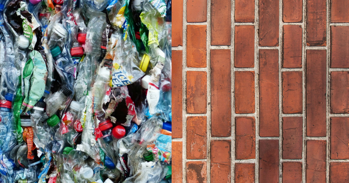 Waste Plastic & Plant Fibres Can Now Be Used to Make Bricks, Thanks to IIT Roorkee!
